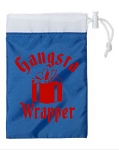Gangsta Wrapper.  Cinch Tote