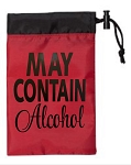 May Contain Alcohol.  Cinch Tote