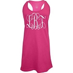 Monogrammed Racer Back Swim Suit Cover Up