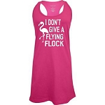 I Don't Give A Flying Flock.  Racer Back Swim Suit Cover Up