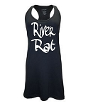 River Rat.  Racer Back Swim Suit Cover Up