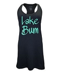 Lake Bum.  Racer Back Swim Suit Cover Up