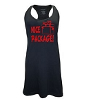 Nice Package!  Racer Back Swim Suit Cover Up