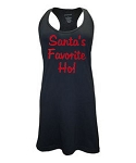 Santa's Favorite Ho!  Racer Back Swim Suit Cover Up