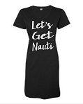 Let's Get Nauti. V-Neck Swim Suit Cover Up
