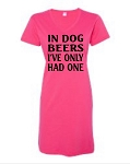 In Dog Beers I've Only Had One.  V-Neck Swim Suit Cover Up