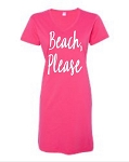 Beach, Please.  V-Neck Swim Suit Cover Up