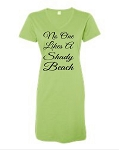 No One Likes A Shady Beach.  V-Neck Swim Suit Cover Up