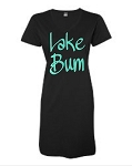 Lake Bum.  V-Neck Swim Suit Cover Up