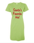 Santa's Favorite Ho!  V-Neck Swim Suit Cover Up