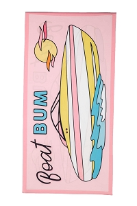 Boat Bum.  Beach Towel