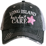 Long Island Hair Don't Care.  Women's Trucker Hat