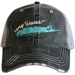 Long Island.  Women's Trucker Hat