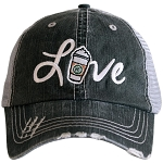 Love Starbucks Coffee.  Women's Trucker Hat