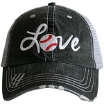 Love Baseball.  Women's Trucker Hat