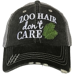 Zoo Hair Don't Care.  Women's Trucker Hat
