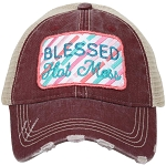 Blessed Hot Mess.  Women's Trucker Hat