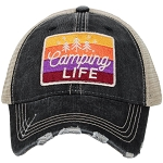 Camping Life.  Women's Trucker Hat