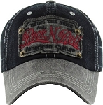 Rock N' Roll.  Vintage Ball Cap