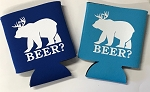 Beer?  Collapsible Can Cooler / Coozie