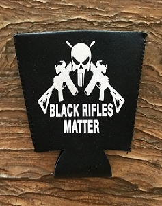 Black Rifles Matter.  Pint Glass Cooler
