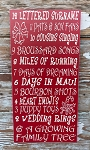 Custom 12 Days Of Christmas.  Wood Sign