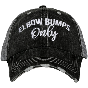 Elbow Bumps Only.  Women's Trucker Hat