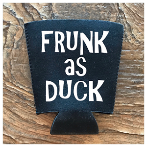 Frunk As Duck.  Pint Glass Cooler
