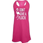 I Don't Give A Flock.  Racer Back Swim Suit Cover Up