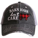 Barn Hair Don't Care.  Women's Trucker Hat