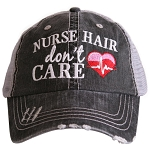 Nurse Hair Don't Care.  Women's Trucker Hat