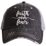 Faith Over Fear.  Women's Trucker Hat