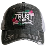 Trust In The Lord.  Women's Trucker Hat