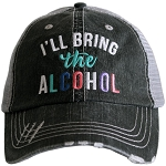 I'll Bring The Alcohol.  Women's Trucker Hat
