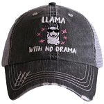 Llama With No Drama.  Women's Trucker Hat
