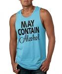 May Contain Alcohol.  Men's Tank Top
