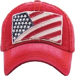 Flag Tactical Operator.  Vintage Hat