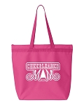 Cheerleader Mom.  Zipper Tote Bag