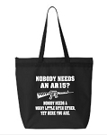 Nobody Needs An AR15?  No One Needs A Whiny Little Bitch Either, Yet Here You Are.  Zipper Tote Bag