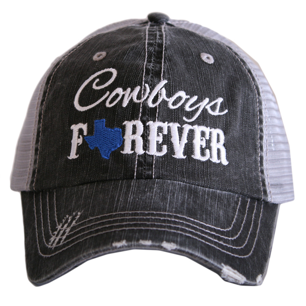 Cowboys Forever.  Women's Trucker Hat