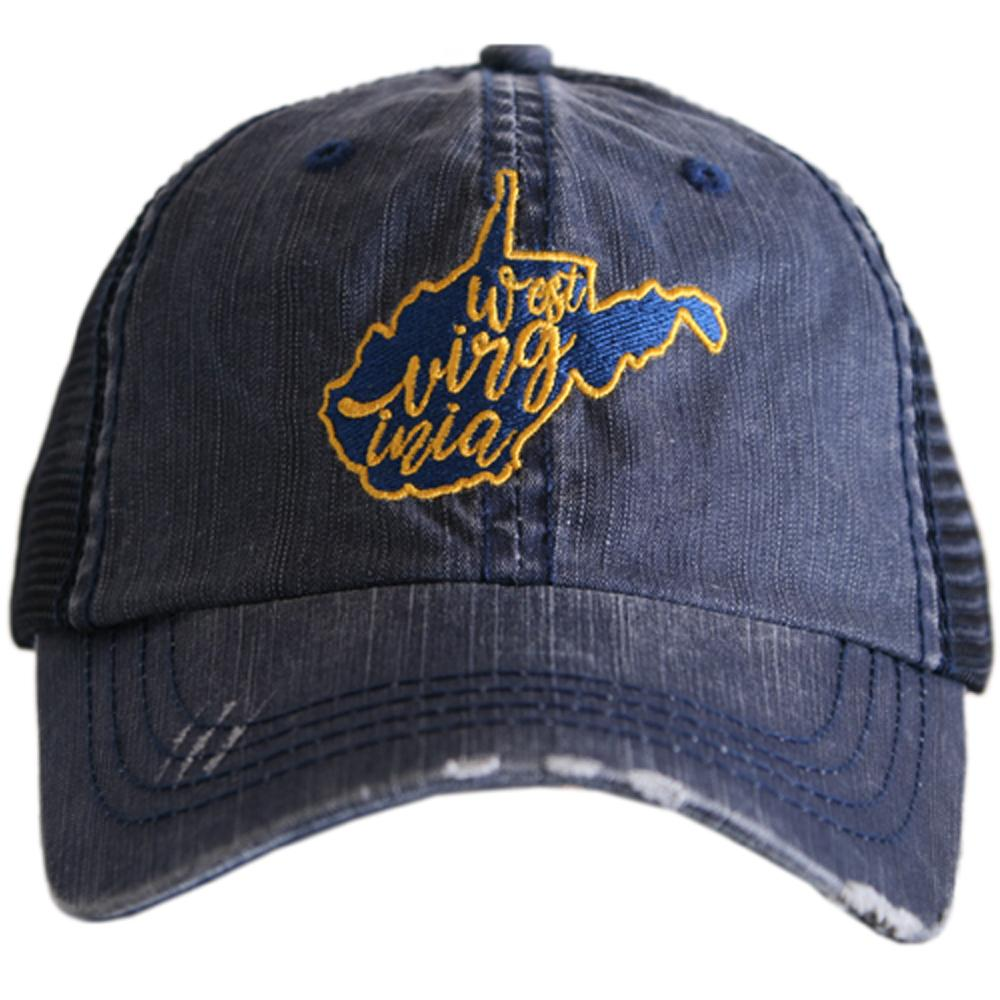 West Virginia.  Women's Trucker Hat