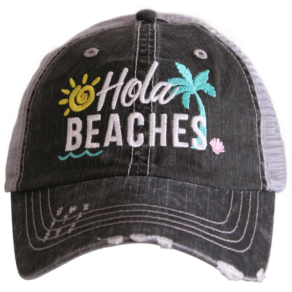 Hola Beaches.  Women's Trucker Hat