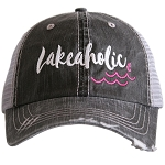 Lakeaholic.  Women's Trucker Hat