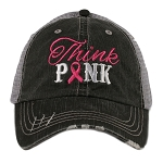 Think Pink.  Women's Trucker Hat