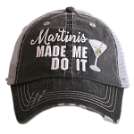 Martinis Made Me Do It.  Women's Trucker Hat