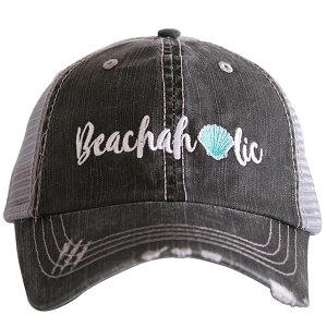 Beachaholic.  Women's Trucker Hat