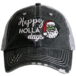 Happy Holla Days.  Women's Trucker Hat