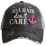 30A Hair Don't Care.  Women's Trucker Hat