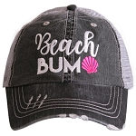 Beach Bum.  Women's Trucker Hat