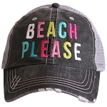 Beach Please.  Women's Trucker Hat